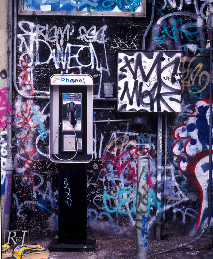 Almost Naked Pay Phone